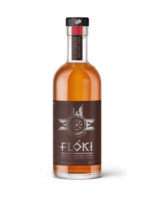 Flóki Single Malt sheep dung smoke